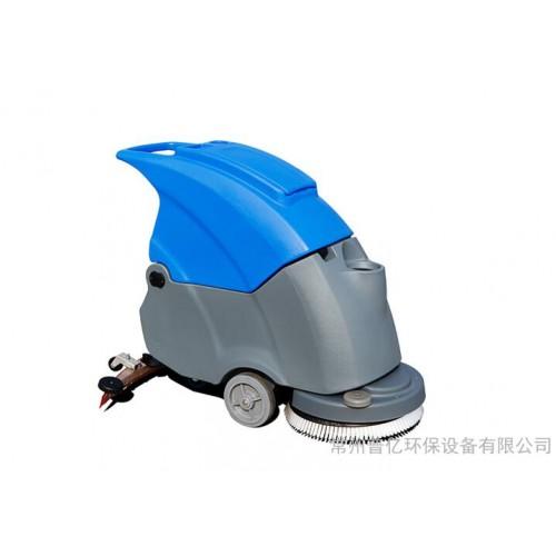 拓威克工业洗地机 TK500电瓶式洗地吸干机 手推式洗地机价格-- 常州普亿环保设备有限公司