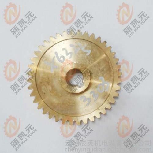 机床零配件 南通铣床X6325-3303铜蜗轮 Z40孔15 铣床配件-- 江阴辰英机电设备有限公司