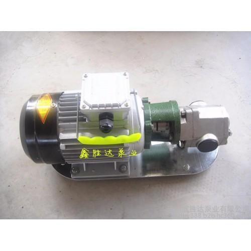 WCB-50手提泵/不锈钢手提齿轮泵/便携式小型齿轮泵/3项电机整机-- 沧州鑫胜达泵业有限公司