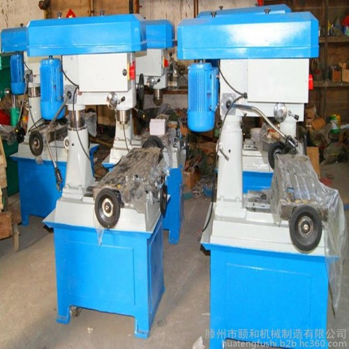 供应ZX40多功能钻铣床 加走刀器数显40钻铣床-- 滕州市颐和机械制造有限公司