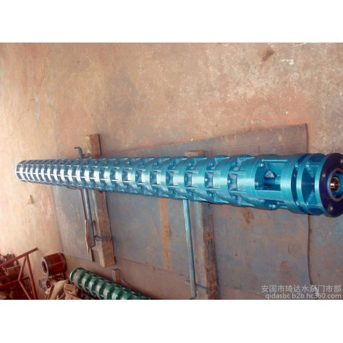 \t\t\t\t\t深井泵廠家現貨供應深井大流量高揚程潛水泵 250QJ可定做鑄鋼鑄鐵電泵-- 安國市琦達水泵門市部