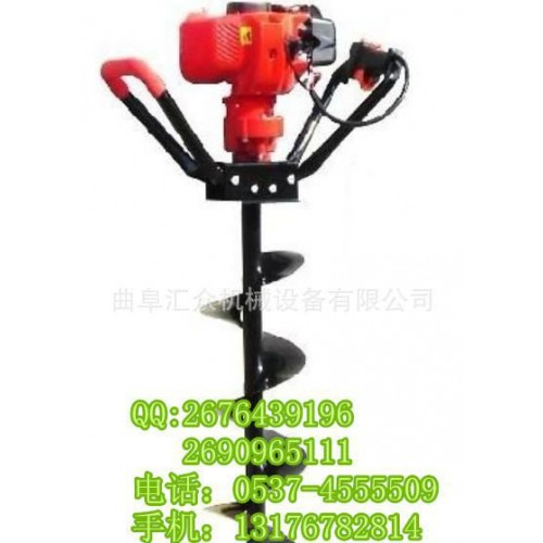 挖坑機報價 挖坑機圖片 挖坑機操作示范Y4-- 曲阜匯眾機械設備有限公司