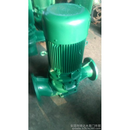 管道泵 65-200B立式管道泵 ISG管道泵 熱水循環泵 鍋爐給水泵-- 安國市琦達水泵門市部