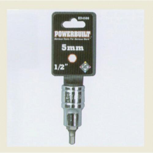 供应宝力优1/2系列  六角旋具 5mm  套筒手动工具-- 上海卫仕优工贸有限公司