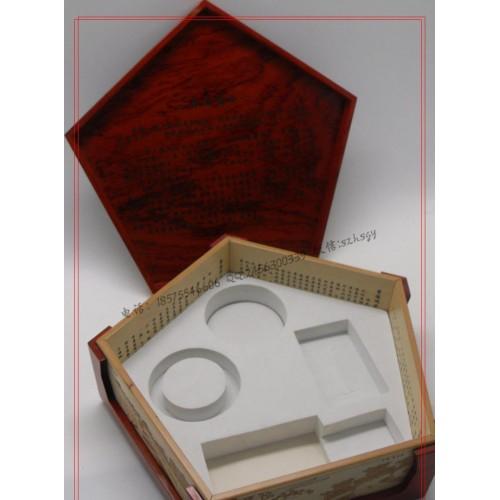 藍田玉禮盒包裝 藍田玉木盒包裝批量生產-- 深圳市鴻勝三聯工藝品有限公司
