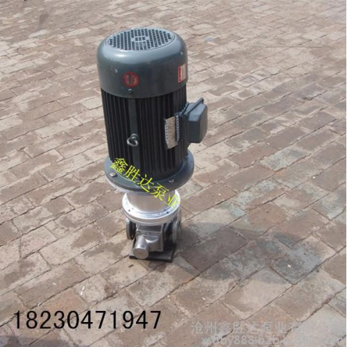 立式圆弧泵/不锈钢圆弧齿轮泵/YCB立式圆弧齿轮泵/化工泵/2.2KW电机整机-- 沧州鑫胜达泵业有限公司