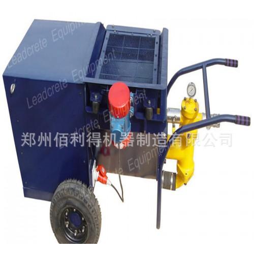 砂漿泵:噴涂砂漿泵,注漿砂漿泵,效率高,砂漿灌注和輸送-- 鄭州佰利得機器制造有限公司