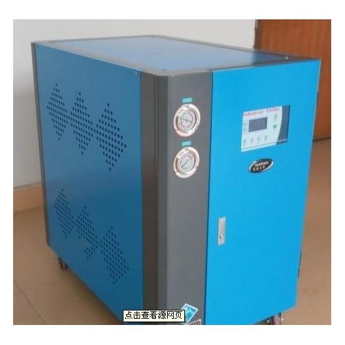 佛山厂家新款小型工业冷水机组 螺杆半导体电镀水冷机温度可控-- 周汉荣