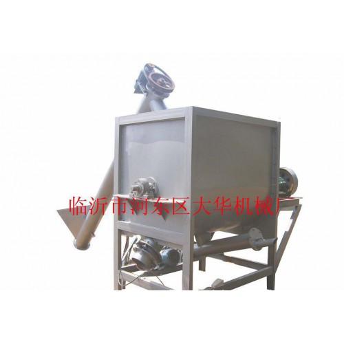 临沂腻子粉腻子膏搅拌机(图)/卧式腻子膏混合机-- 临沂市河东区大华 机械厂