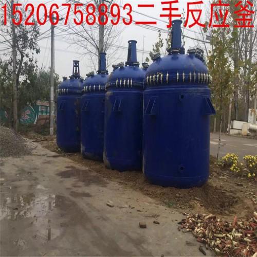 出售二手10000L搪瓷反应釜参数-- 梁山县润鑫二手化工设备销售部