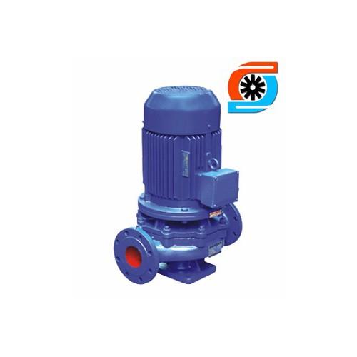 上海邦瀑ISG100-160A 立式單級管道離心泵 增壓泵 立式管道循環離心泵-- 上海邦瀑泵業制造有限公司