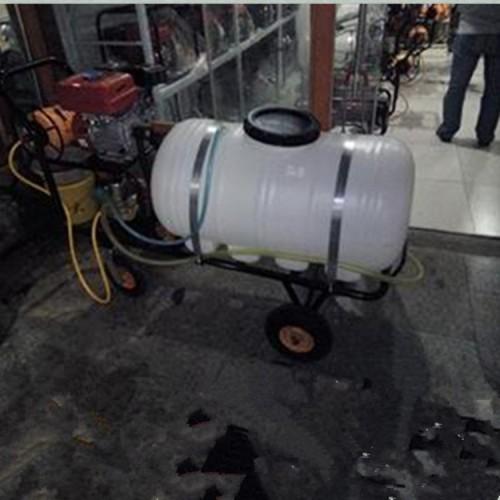 水稻水田杀虫喷雾机 耐用的手推车式四轮打药机 经济实用带刹车-- 曲阜市德鑫机械设备有限公司