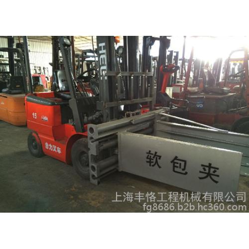9成新 夹抱叉车 平夹抱叉车 2手卡斯卡特抱夹头-- 上海丰恪工程机械有限公司