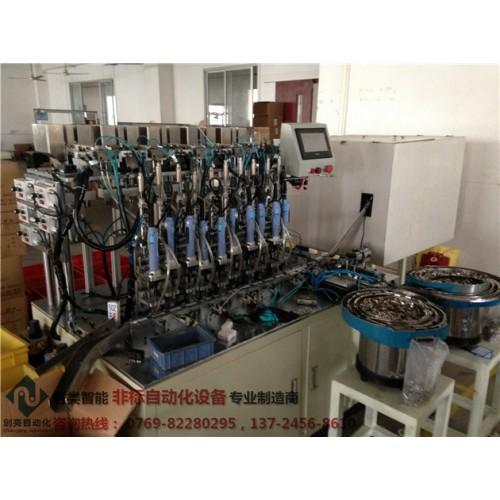 接线座自动组装锁螺丝设备-- 东莞市创亮自动化科技有限公司
