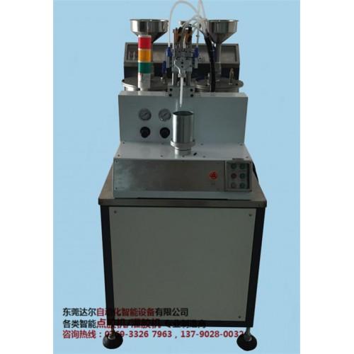 防水電源六軸雙平臺翻轉點膠機DR-960廠家 防水電源聚氨脂灌膠機批發