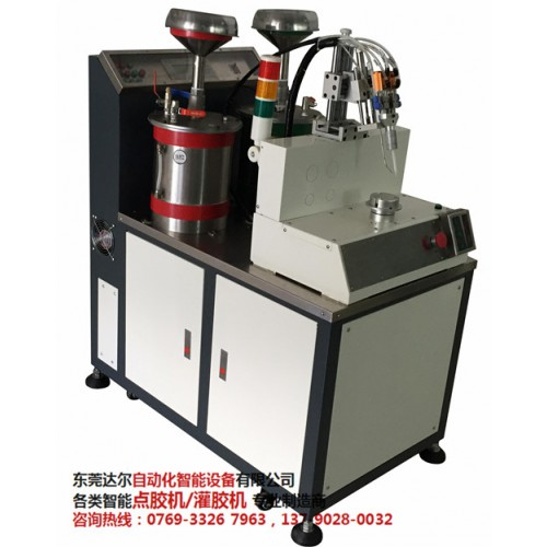 温州聚氨脂灌胶机供应商 温州六轴双平台翻转点胶机DR-960采购-- 东莞市达尔自动化设备有限公司