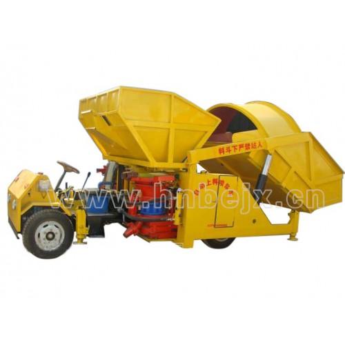 PZ-7型自动上料喷浆车(拖拉机头式)-- 河南宝润机械有限公司