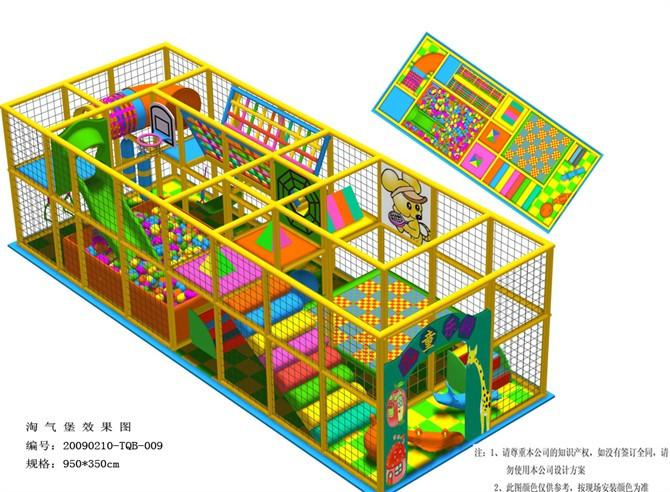 石家庄室内淘气堡设计公司  淘气堡项目价格 淘气堡经营条件-- 河北云霞游乐设备有限公司