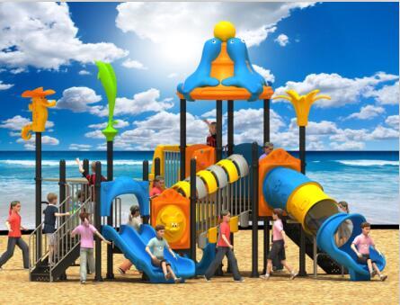 2017款幼儿园组合滑梯  户外大型滑梯-- 河南艾柯欣游乐设备有限公司