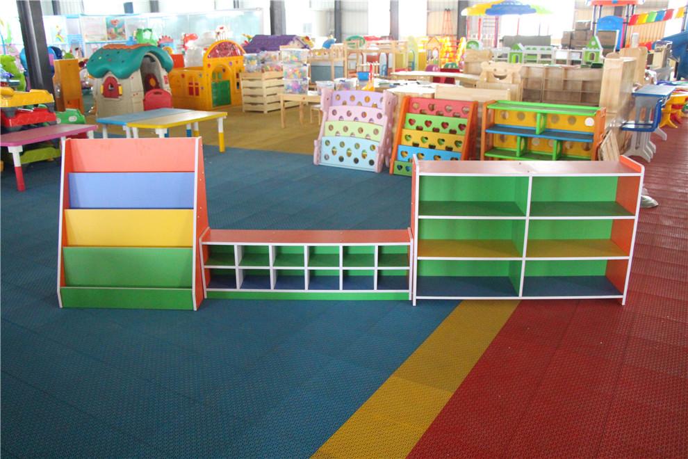 2017款幼儿园儿童书包柜  彩色柜  防火柜  玩具柜-- 河南艾柯欣游乐设备有限公司