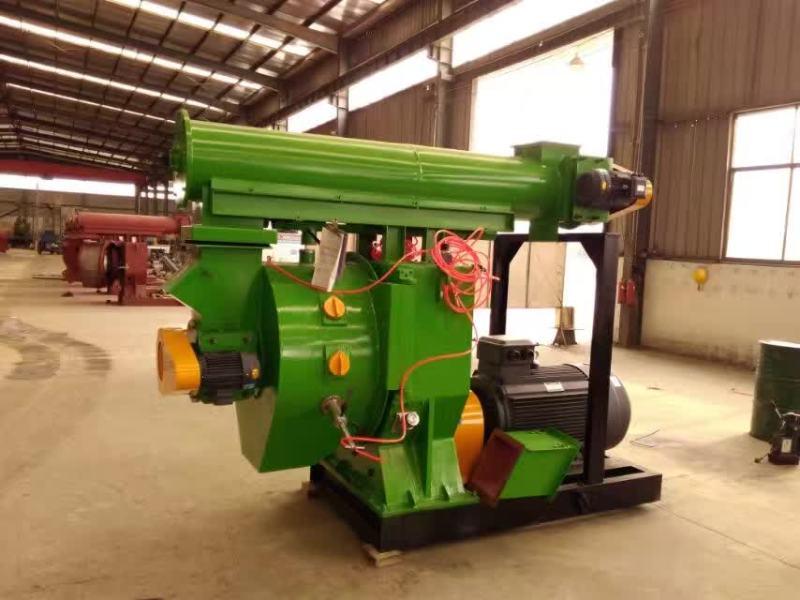 安徽木屑颗粒机|一吨产量颗粒机简配-- 济宁市田农机械有限公司
