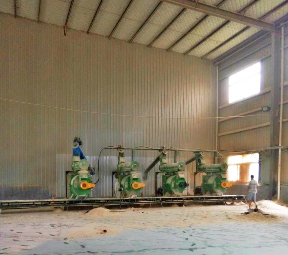 自动注油秸秆颗粒机|卧式颗粒机设备-- 济宁市田农机械有限公司