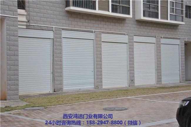 西安電動水晶卷閘門安裝 西安電動水晶卷閘門定做-- 西安鴻運門業有限公司