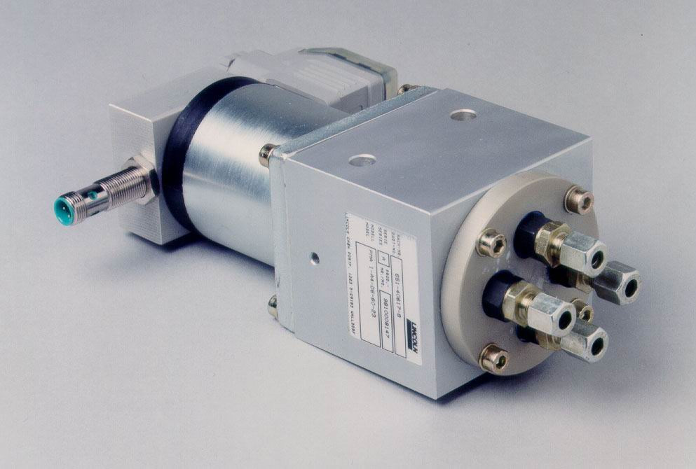 电磁泵稀油喷射润滑/润滑分配器/林肯润滑分配器-- 上海诺法机械设备有限公司