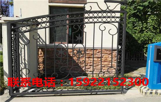 天津铁艺围栏直销  天津铁艺围栏安装-- 天津福瑞林铁艺卷帘门公司