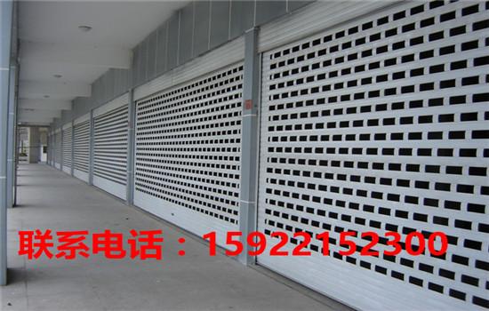 天津电动卷帘门安装 天津电动卷帘门价格-- 天津福瑞林铁艺卷帘门公司