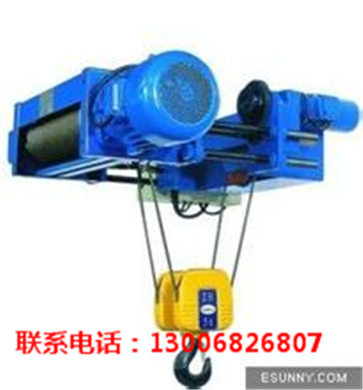 深圳电动葫芦系列设备机械厂家供应商-- 东莞起重机设备有限公司