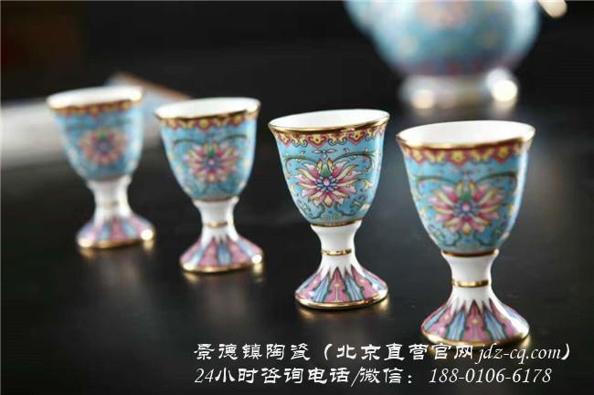 北京景德鎮陶瓷酒具套裝批發價格-- 北京景瓷文化發展有限公司(景德鎮瓷器北京直營)
