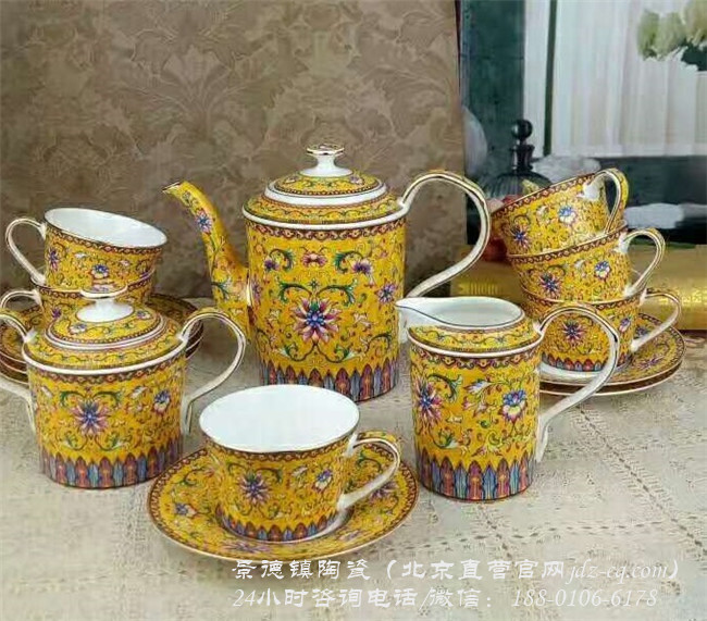北京景德镇陶瓷咖啡具定制厂家 北京景德镇陶瓷咖啡具批发价格-- 北京景瓷文化发展有限公司(景德镇瓷器北京直营)
