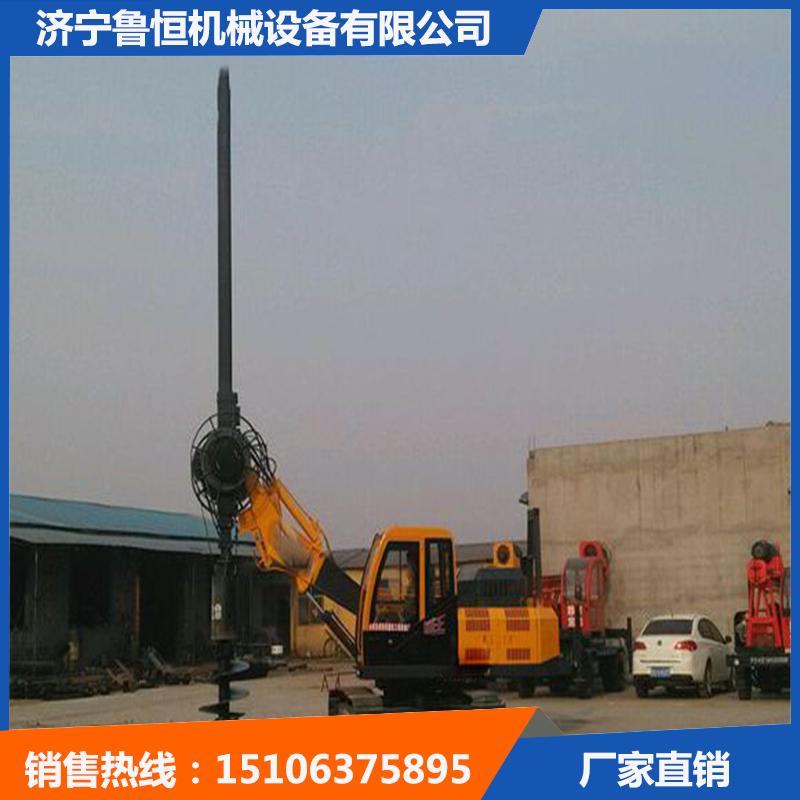 濟寧履帶式旋挖鉆機 魯恒履帶式打樁機產品熱銷-- 濟寧魯恒機械設備有限公司
