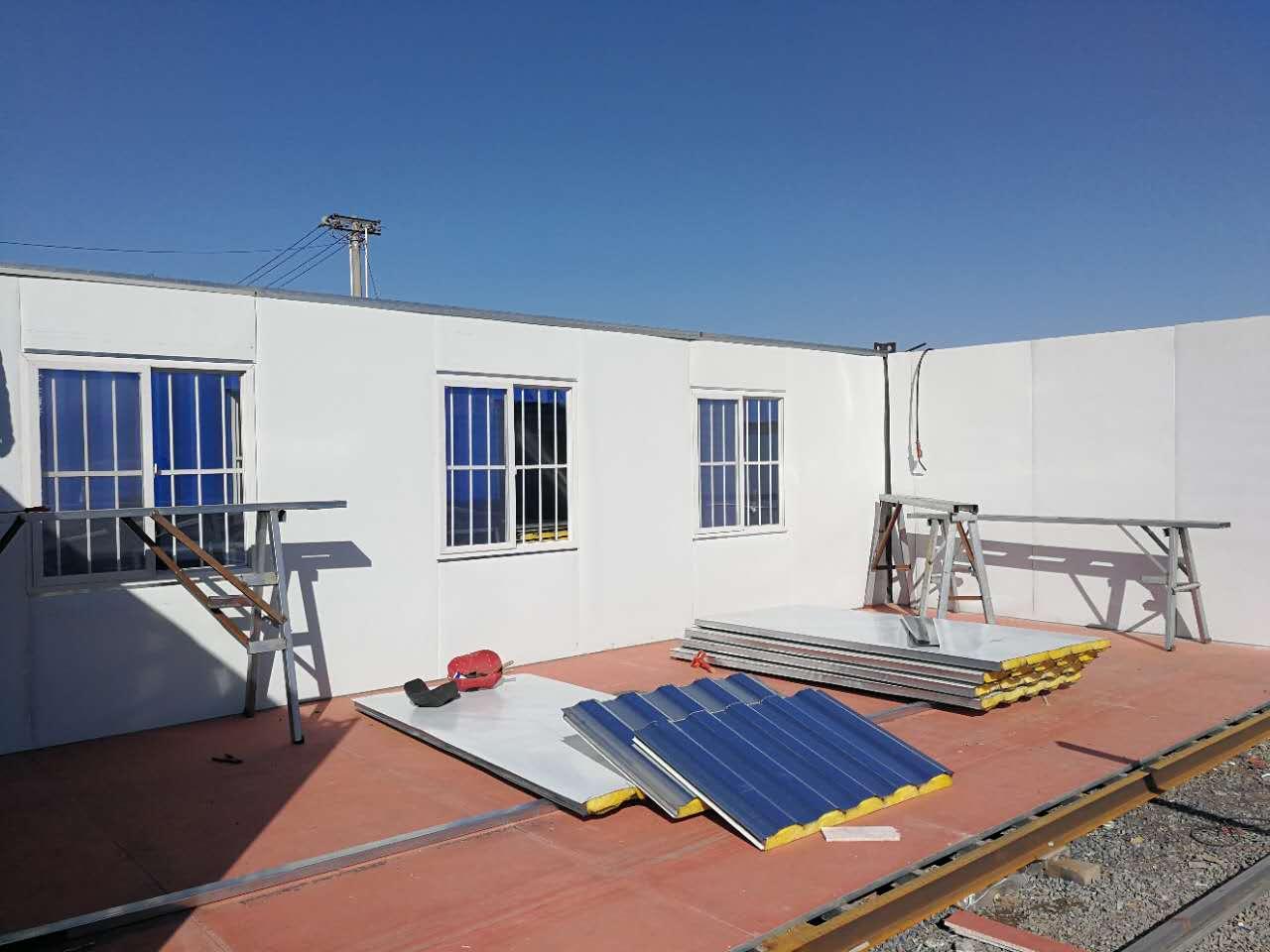吊装式活动板 吊装式活动板房-- 人本建筑安装 集装箱 活动板房