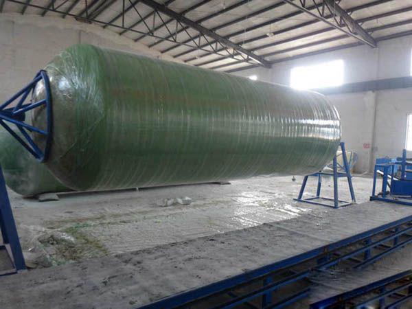 玻璃钢缠绕储罐-- 甘肃大军玻璃钢制品有限公司