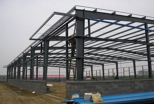 鋼結構建筑廠房 建筑鋼結構-- 人本建筑安裝 集裝箱 活動板房
