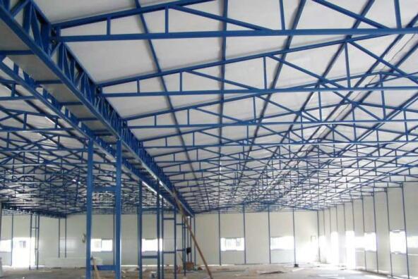 钢结构建筑厂房-- 人本建筑安装 集装箱 活动板房