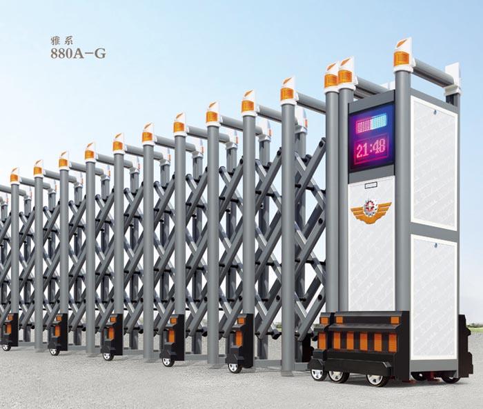 安慶電動伸縮門供應商 安慶電動伸縮門生產廠家-- 安慶萬家紅門業有限公司