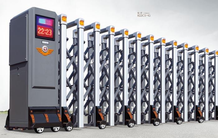 安庆电动伸缩门生产厂家 安庆电动伸缩门供应商-- 安庆万家红门业有限公司