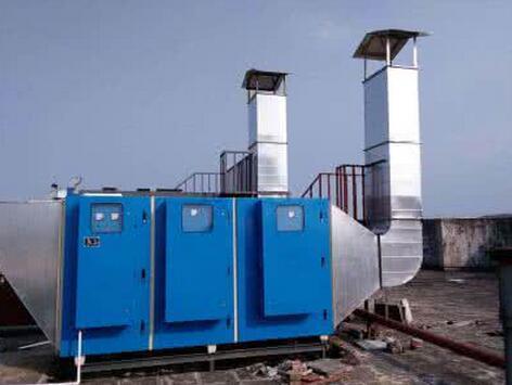 UV光氧催化设备-- 河北广吉玻璃钢有限公司