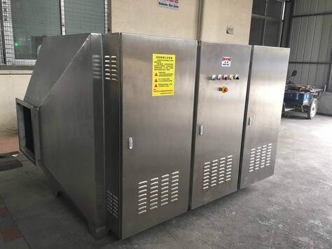 UV光解除臭设备-- 河北广吉玻璃钢有限公司