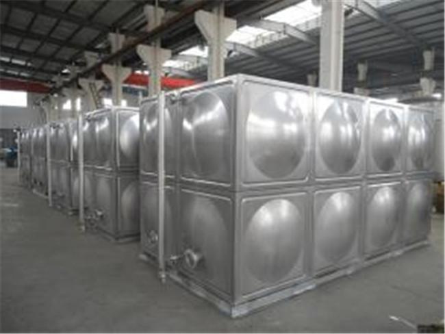 不锈钢水箱厂家 不锈钢水箱供应-- 大有玻璃钢