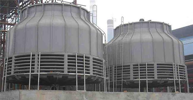逆流式圆形玻璃钢冷却塔供应商 逆流式圆形玻璃钢冷却塔生产厂家-- 大有玻璃钢