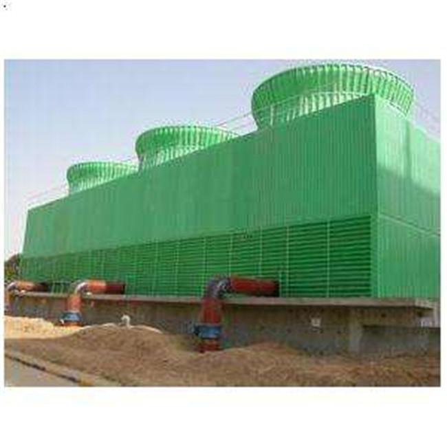 横流式方形玻璃钢冷却塔供应商 横流式方形玻璃钢冷却塔生产厂家-- 大有玻璃钢