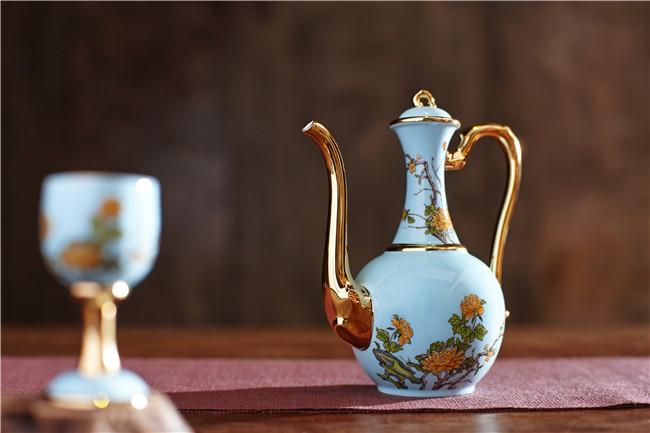 景德镇陶瓷酒具定制厂家-- 北京景瓷文化发展有限公司(景德镇瓷器北京直营)
