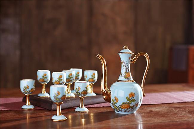 景德镇陶瓷酒具批发价格-- 北京景瓷文化发展有限公司(景德镇瓷器北京直营)
