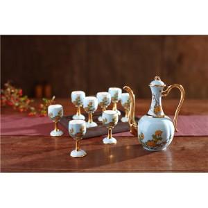 景德鎮陶瓷酒具套裝定制廠家