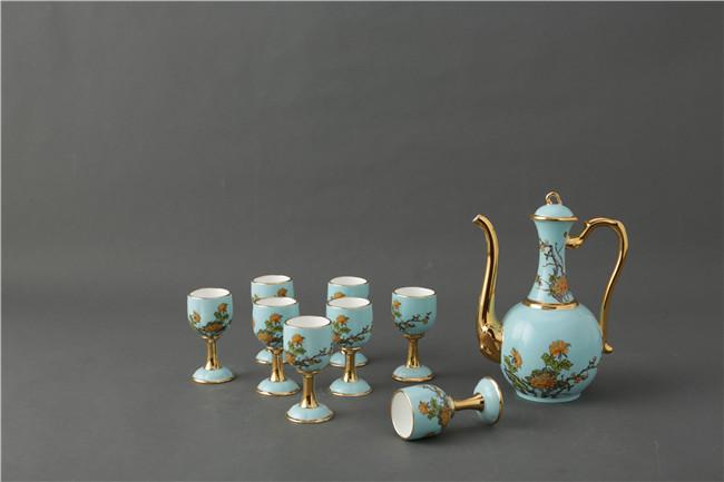 景德镇陶瓷酒具套装批发价格-- 北京景瓷文化发展有限公司(景德镇瓷器北京直营)