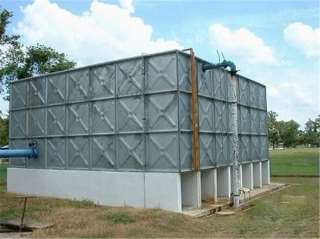 组合式镀锌钢板水箱-- 大有玻璃钢